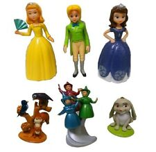 Sofia the First Clover Playset 6 Figure Cake Topper * USA SELLER* Toy Doll Set