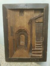 Small Antique Wood Carved