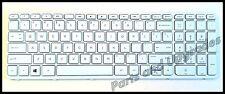 HP Pavilion 15Z-E000 15Z-N000 15Z-N100 15Z-N200 US White Keyboard With Frame NEW