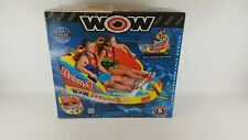 Wow World of Watersports, Big Bubba Towable Tube Deck Seat 1-2 Riders New