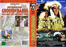 (VHS) Die Söhne der großen Bärin - Gojko Mitic, Jirí Vrstála, Rolf Römer (1965)