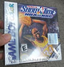 Nintendo Game Boy Color 1999 NBA SHOWTIME: NBA on NBC GAME IN FACTORY SEALED BOX
