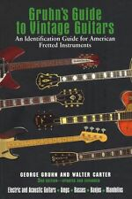 Gruhn's Guide to Vintage Guitars Acoustic Guitar Banjo Mandolin Music Book