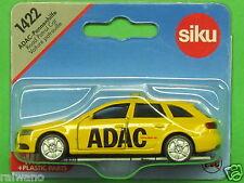 Siku Super Serie 1422 ADAC Pannenhilfe Audi A4 Avant verkehrsgelb