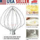 Stainless Steel 6 Wire Whip 4.5 QT  For Kitchen Aid Stand Mixer K45WW USA stock photo