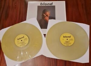 FRANK OCEAN BLOND 2x LP LIMITED DELUXE EDITION ON COLOURED VINYL