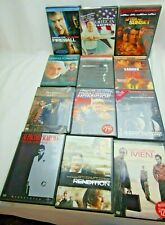 Lot of  12 DVD'S  - Action/Suspense/Thriller/Drama LIST IN ITEM DESCRIPTION