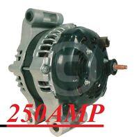 HIGH AMP ALTERNATOR Fits 300 SERIES DODGE CHARGER MAGNUM 2.7 3.5 5.7 6.1L 250AMP