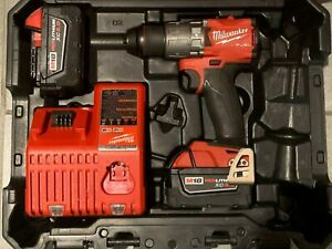Milwaukee FUEL M18 2804-22 1/2-Inch Lithium-Ion Brushless Hammer Drill Kit