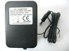 1500ma 15v AC-AC (AC Output) Mains Power Adaptor/Supply/Charger (1.5a 22.5va)