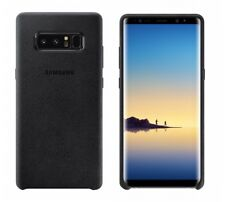 Samsung Alcantara Cover Galaxy Note 8 Schutzhülle Case schwarz