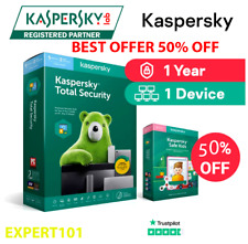 Kaspersky Totale Security 2021 Global key🔑 1 Device 1 year PC/Mac/Android🔑