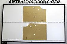 Holden FJ, FX. Door Cards. Fit: Ute, Panel Van & Sedan Blank Trim Panels. 42-215