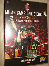 DVD N°1 UN EL SUEÑO PARTITO DESDE LEJOS MILAN MUESTRA D'EUROPA 2007 SKY DEPORTE