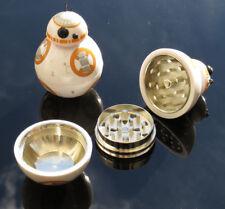 Novelty Star Wars BB-8 Droid Herb Grinder 3 Part 50mm Round Metal Ball Crusher