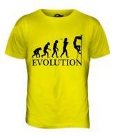 ROCK CLIMBING EVOLUTION OF MAN MENS T-SHIRT TEE TOP GIFT CLIMBER