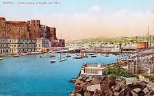 Naples Unposted Collectable Italian Postcards