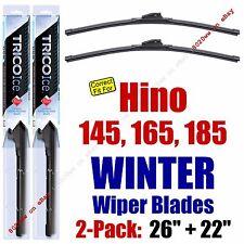 WINTER Wiper Blades 2pk Premium fit 2005-2010 Hino 145 165 185 - 35260/220