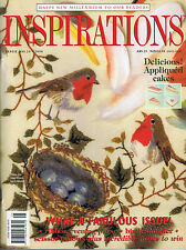 INSPIRATIONS MAGAZINE issue 25 pattern attached WORLDS MOST BEAUTIFUL EMBROIDERY