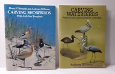 Carvings Water Birds & Carving Shorebirds Anthony Hillman Patterns Instructions
