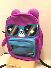 Sanrio Hello Kitty MY MELODY Loungefly XL Face BACKPACK w Ears School Laptop Bag