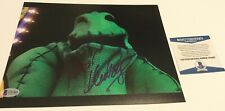 KEN PAGE NIGHTMARE BEFORE CHRISTMAS OOGIE BOOGIE SIGNED 8X10 PHOTO B BECKETT BAS