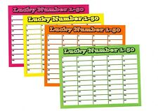 Pick a Number 1-50 - Fundraising 10 Pack bundle