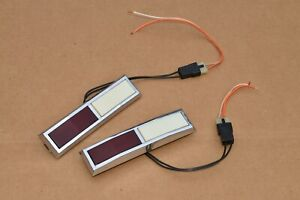 1977-1990 CHEVROLET CAPRICE IMPALA OLDSMOBILE PONTIAC DOOR PANEL COURTESY LIGHTS