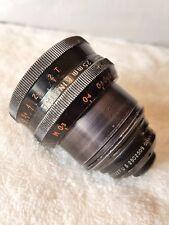 Taylor Hobson KINETAL 25mm T2 (f1.8) Arriflex ARRI S Lens.