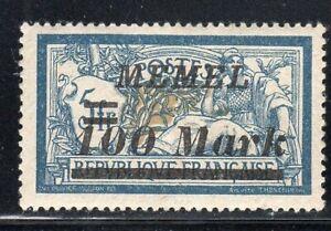 GERMANY FRANCE  MEMEL   STAMPS MINT HINGED   LOT 29147