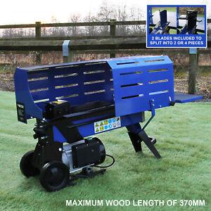 Log Splitter 5 Ton Timber Fire Wood Cutter 3L Hydraulic Electric 2000W Motor