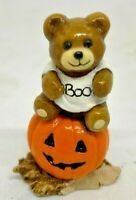 """RETIRED Wee Forest Folk 1984 T-3 """"Boo Bear"""" (Halloween) Signed """"DP"""""""