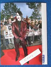 "Original Press Photo - 8""x6"" - Marilyn Manson - 2004 - B"