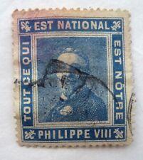 TIMBRE VIGNETTE / PORTE TIMBRE PHILIPPE VIII / PROPAGANDE ROYALISTE