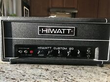 Hiwatt Custom 20 Head 20 watt Guitar Amp