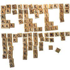 REPLACEMENT (Common) LETTER TILES, Scrabble Vintage Travel, Selchow & Richter