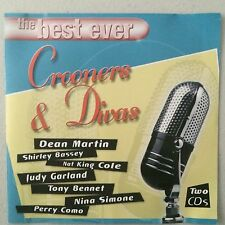 The Best Ever Crooners & Divas - 2xCD Best Of Greatest Hits Dean Martin & More