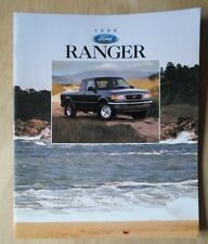 Ford Ranger Orig 1996 Usa Mkt folleto de ventas-XL, XLT Stx Splash