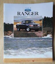FORD RANGER orig 1996 USA Mkt sales brochure - XL XLT STX Splash