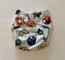Lot Of 1 Happy BeeHinds Cloth Diaper Pocket- Sesame Street Elmo