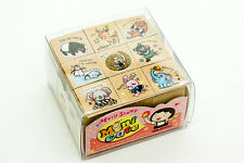 Diary Series 9 Pcs Cute Animal Messages Rubber Stamp Set Scrapbook CardMakeing