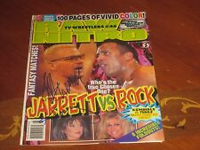 Jeff Jarret and Kimberly Autographed Wrestling Cover Page