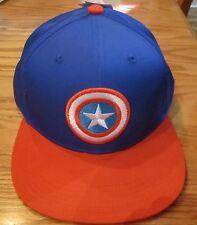 Avengers Captain America Shield Adjustable Adult Hat Marvel Comics Brand New