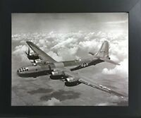 WWII B-29 Super Fortress Airplane Aviation Wall Decor Art Print Framed Picture