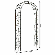 Garden Arch Nature  2.3m x 1.2m Gardman Metal Wedding  Arches Arbour