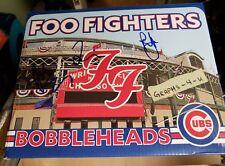 Foo Fighters Signed Bobblehead Wrigley Field Taylor Hawkins Pat Smear Autograph