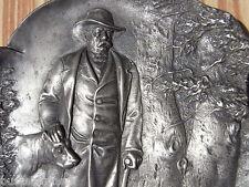 Bismarck mit Jagd Hund WMF Relief Tafel Visitenkarten Schale Wappen Eichenlaub