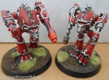 1994 Epic Guardia Imperiale WARHOUND TITAN CITTADELLA PRO PAINTED WARHAMMER Esercito 40k
