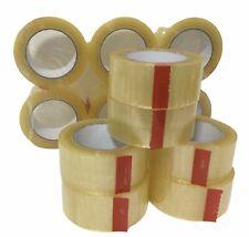 Carton Sealing Tape Box Shipping Acrylic Clear Packing 3 X 110 Yards X 20 Mil