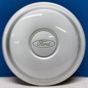 ONE 1997 Ford Escort # 3220 14x5 Steel Wheel / Rim Center Cap # F7C5-1A096-BB
